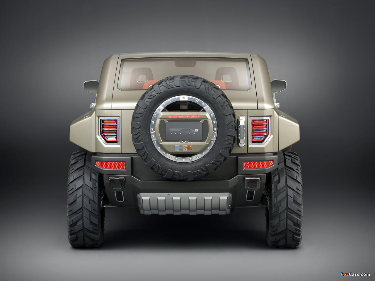 Hummer HX Concept 2008 wallpapers (1280 x 960)