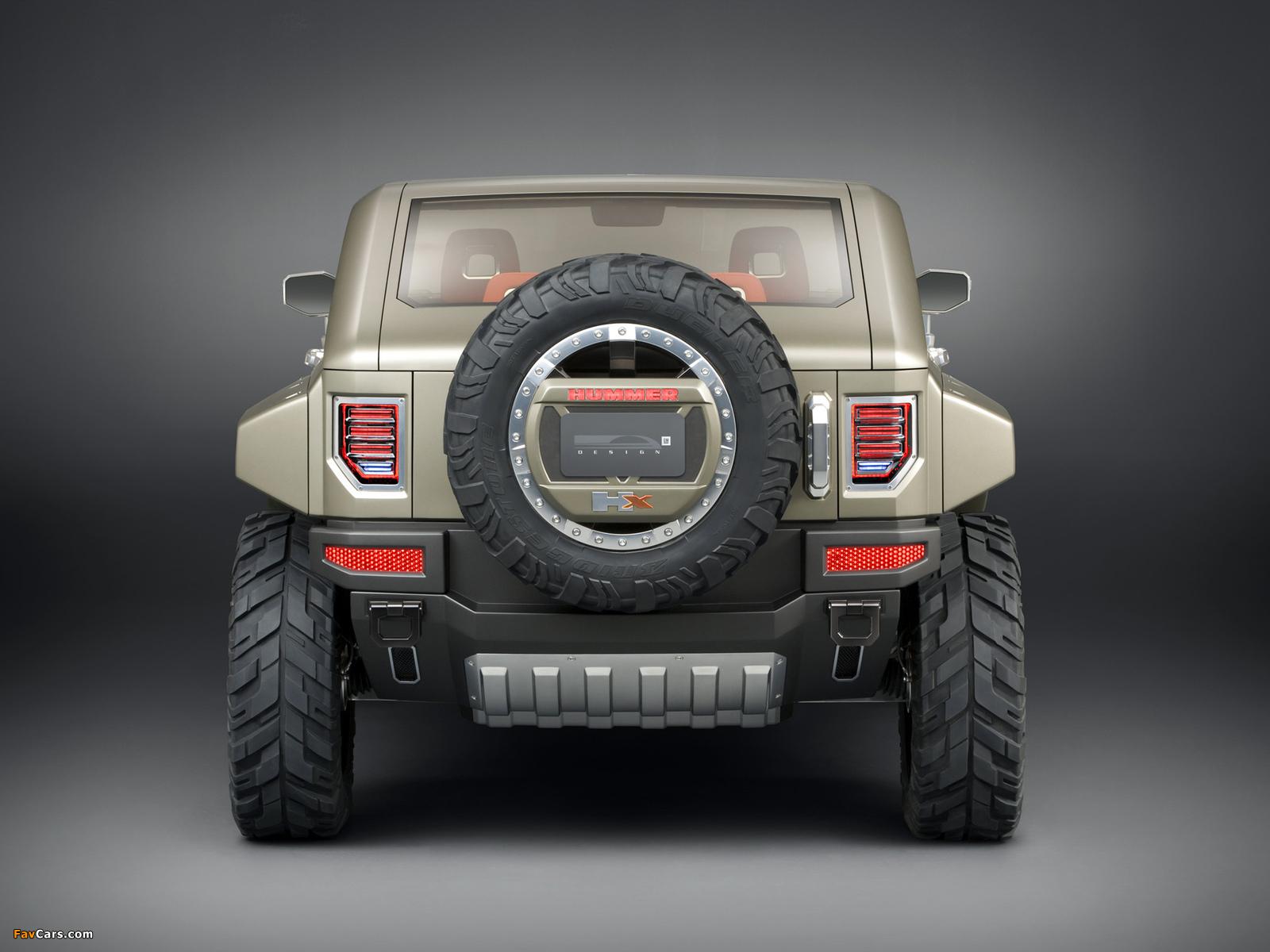 Hummer HX Concept 2008 wallpapers (1600 x 1200)