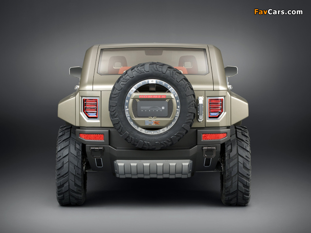 Hummer HX Concept 2008 wallpapers (640 x 480)
