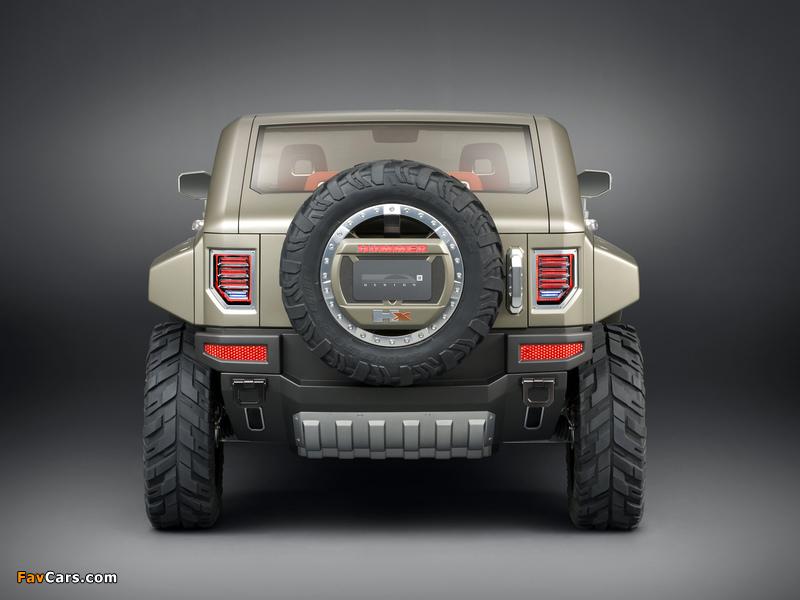 Hummer HX Concept 2008 wallpapers (800 x 600)