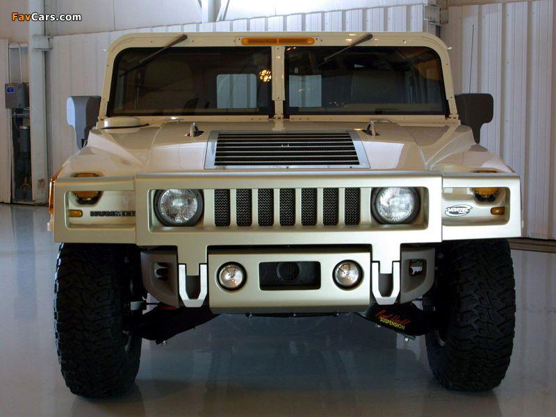 Photos of Hummer H1 Alpha Concept 2001 (800 x 600)