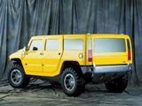 Hummer H2 SUV Concept 2000 photos
