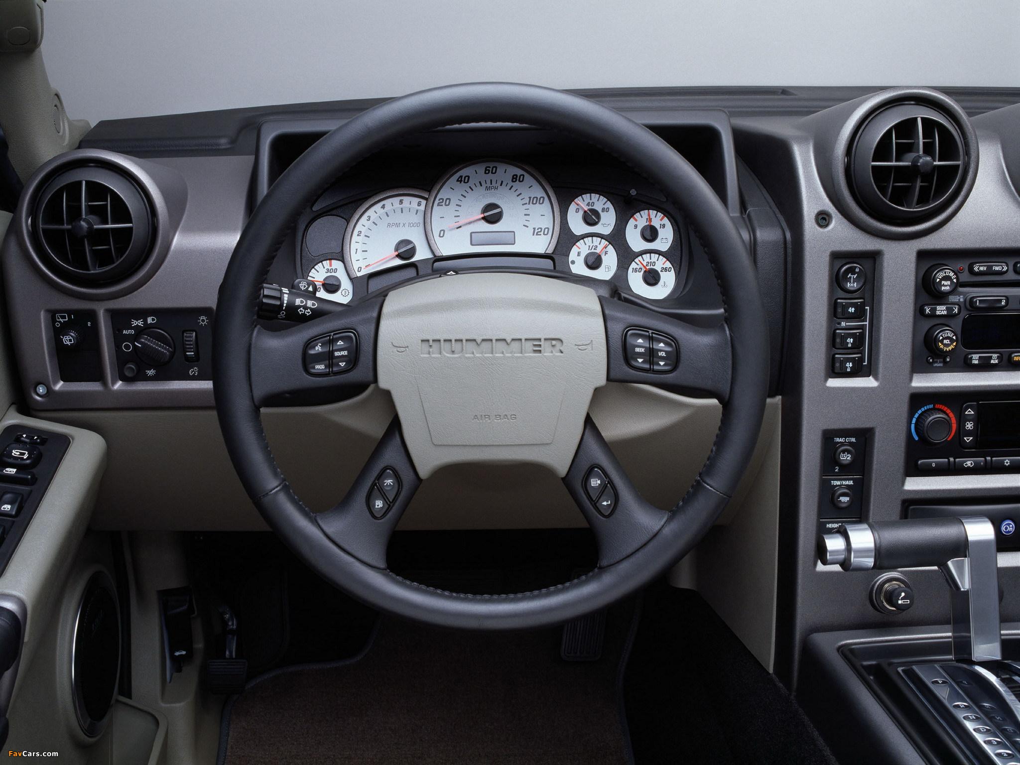 Hummer H2 2002–07 images (2048 x 1536)