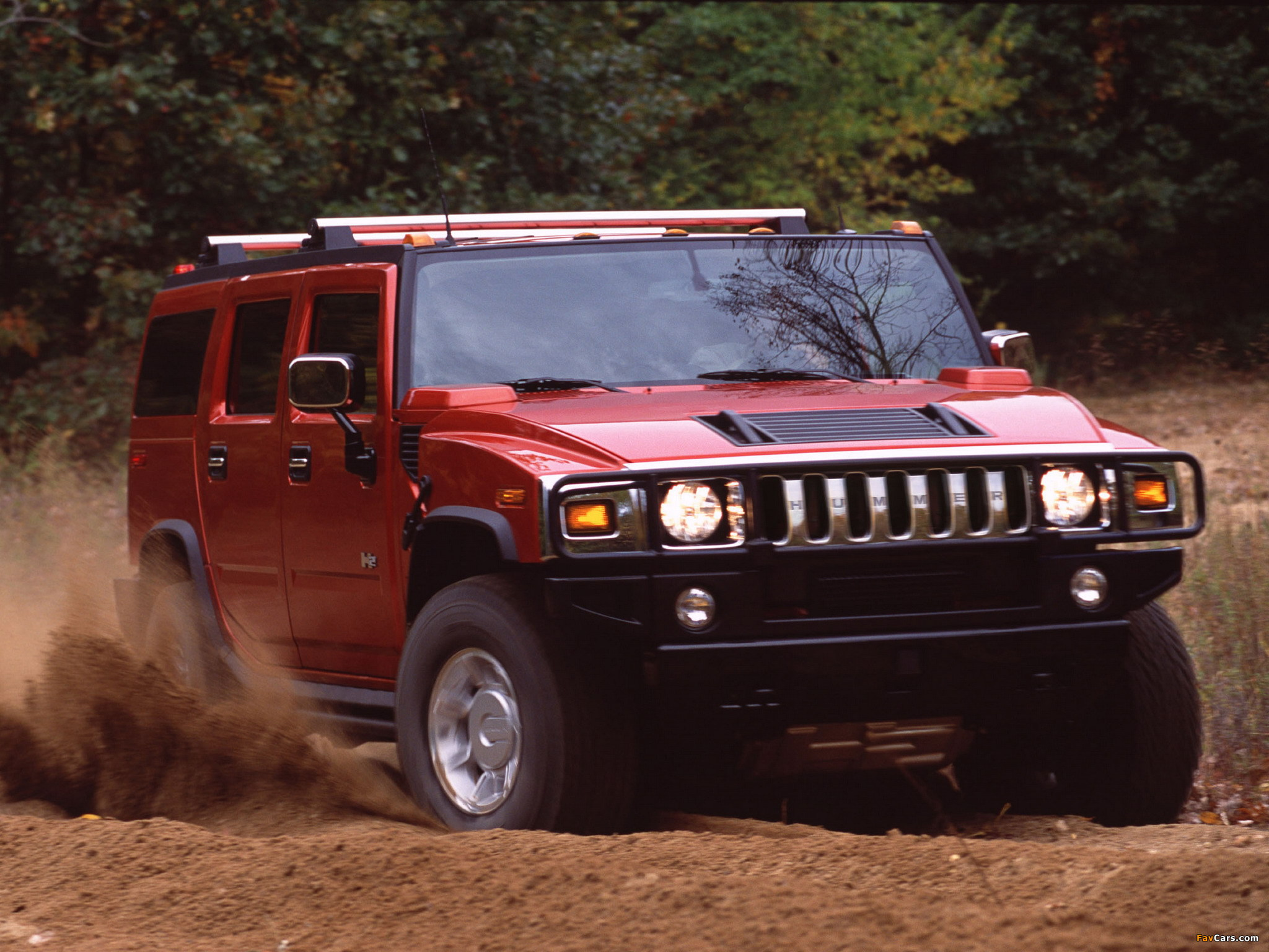 Hummer H2 2002–07 pictures (2048 x 1536)