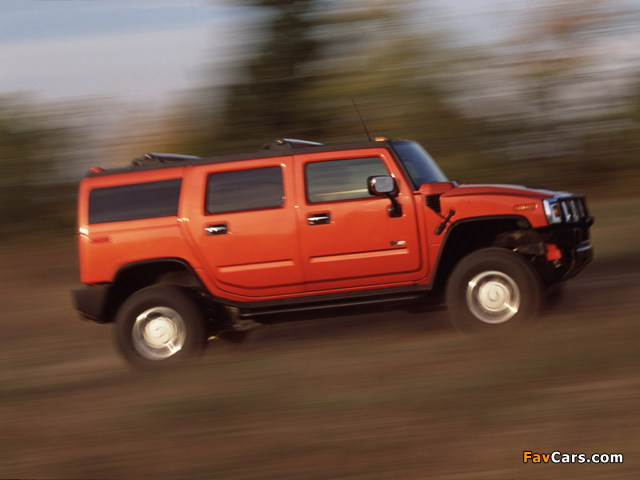 Hummer H2 2002–07 wallpapers (640 x 480)