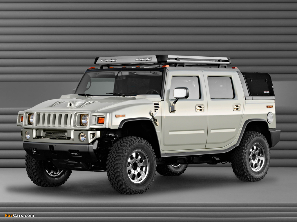 Hummer H2 SUT Dirt Sport Concept 2003 images (1024 x 768)