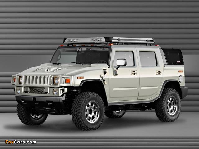 Hummer H2 SUT Dirt Sport Concept 2003 images (640 x 480)