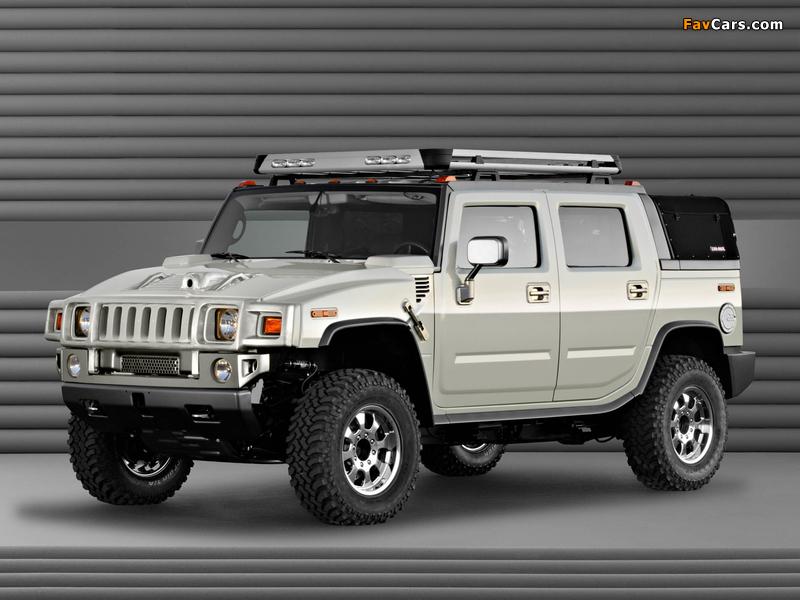 Hummer H2 SUT Dirt Sport Concept 2003 images (800 x 600)