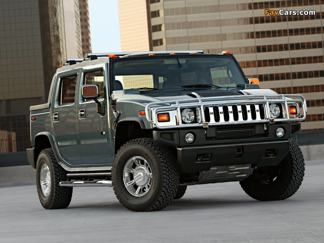 Hummer H2 SUT 2005–09 pictures (640 x 480)
