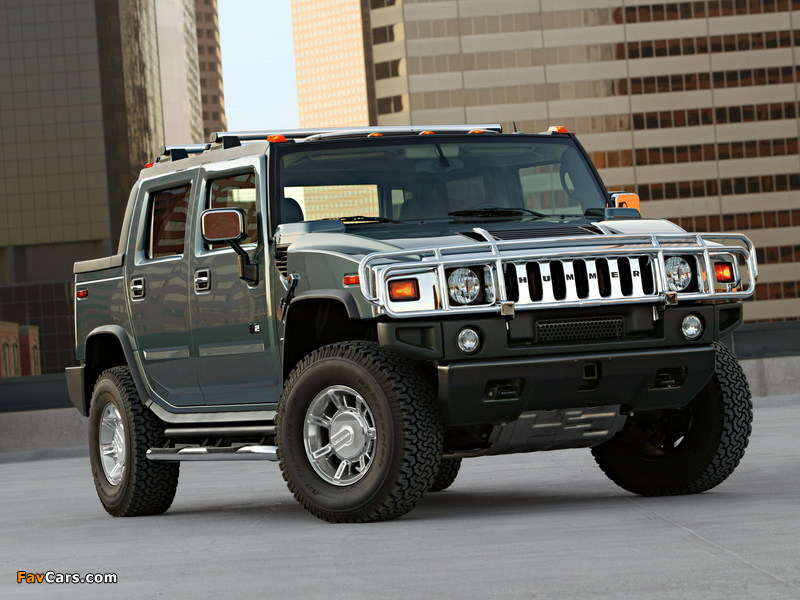 Hummer H2 SUT 2005–09 pictures (800 x 600)