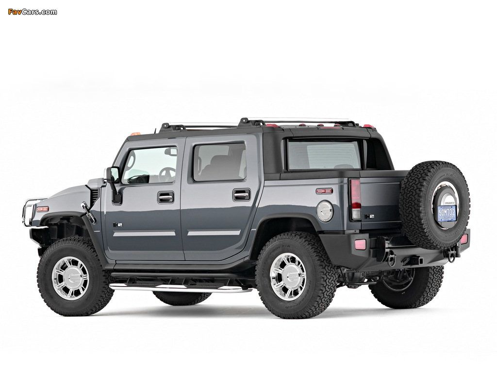 Hummer H2 SUT 2005–09 wallpapers (1024 x 768)
