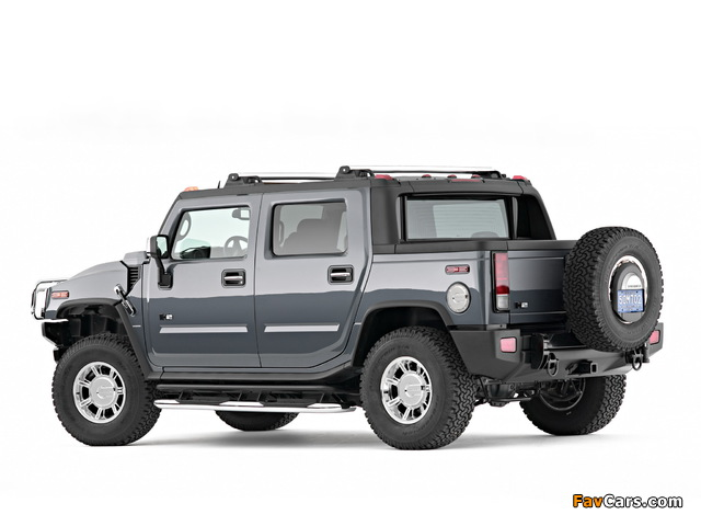 Hummer H2 SUT 2005–09 wallpapers (640 x 480)