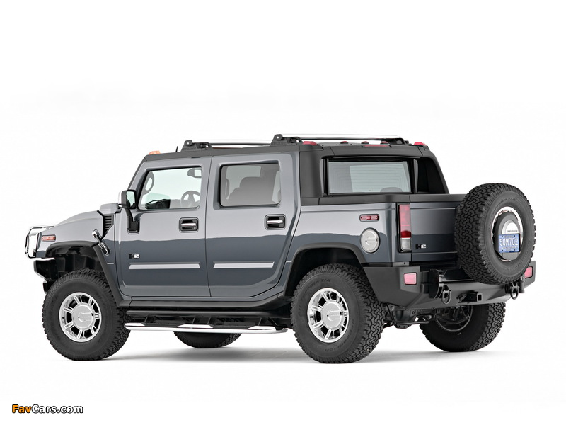 Hummer H2 SUT 2005–09 wallpapers (800 x 600)
