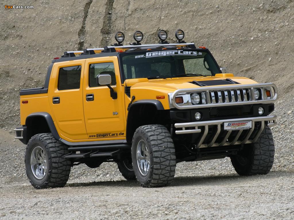Geiger Hummer H2 Hannibal 2006–09 photos (1024 x 768)