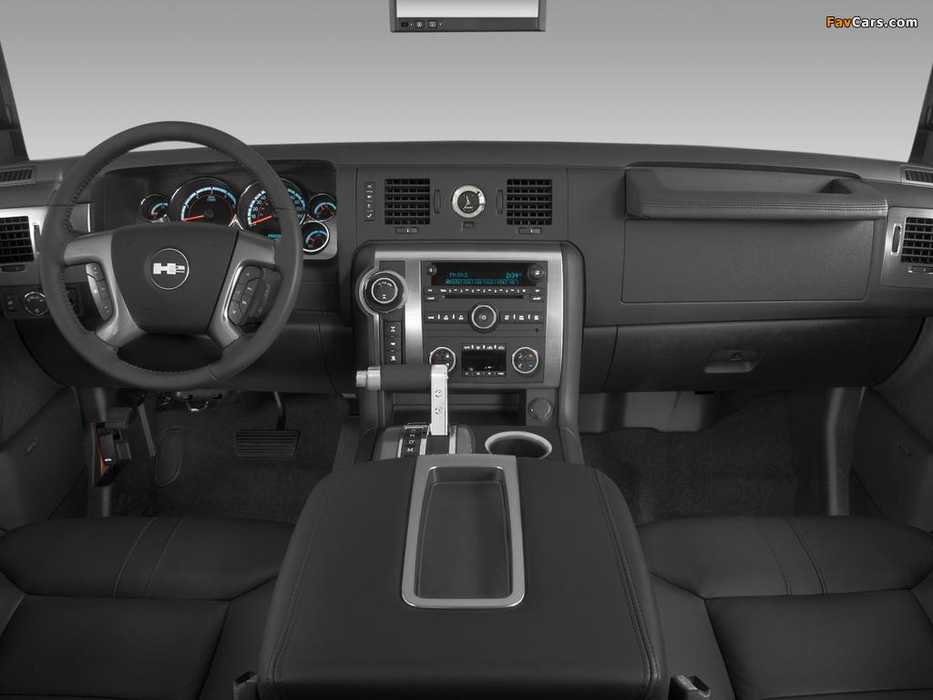 Hummer H2 2007–09 images (1024 x 768)