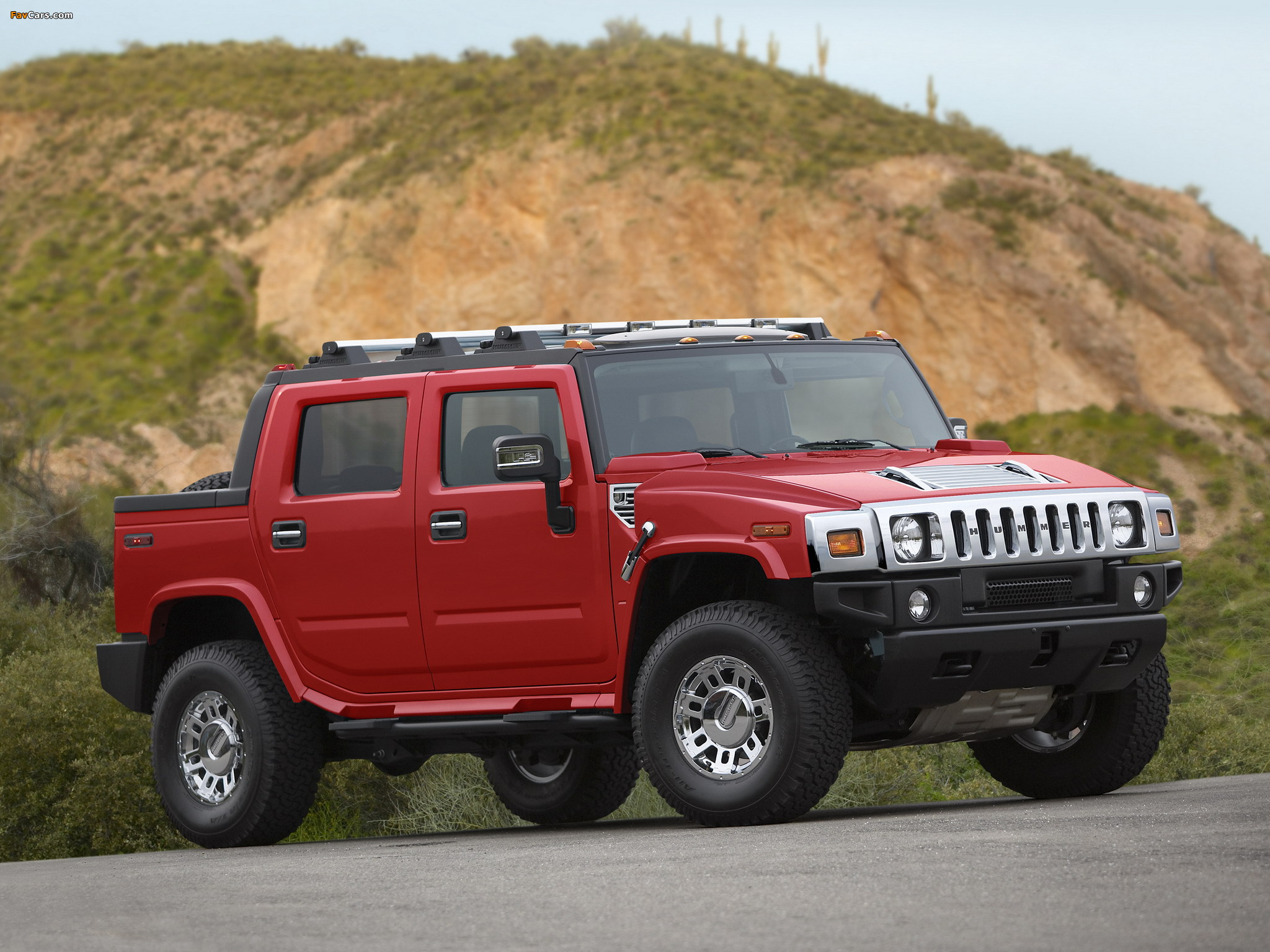Hummer H2 SUT Victory Red Limited Edition 2007 pictures (2048 x 1536)