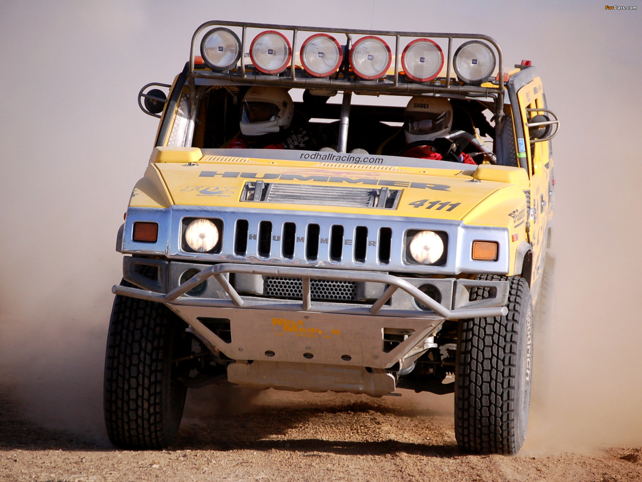 Hummer H2 Race Truck 2007–09 pictures (2048 x 1536)