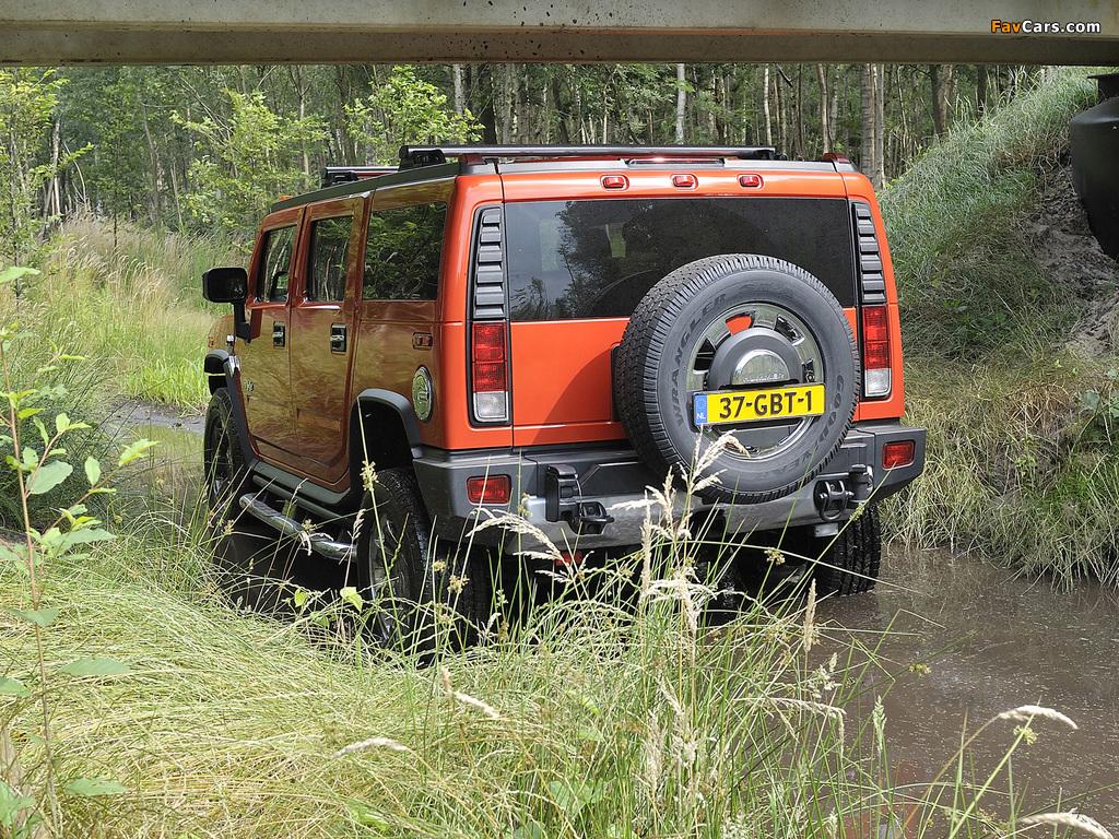 Hummer H2 E85 2008–09 images (1024 x 768)
