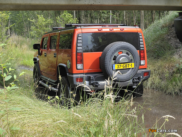 Hummer H2 E85 2008–09 images (640 x 480)