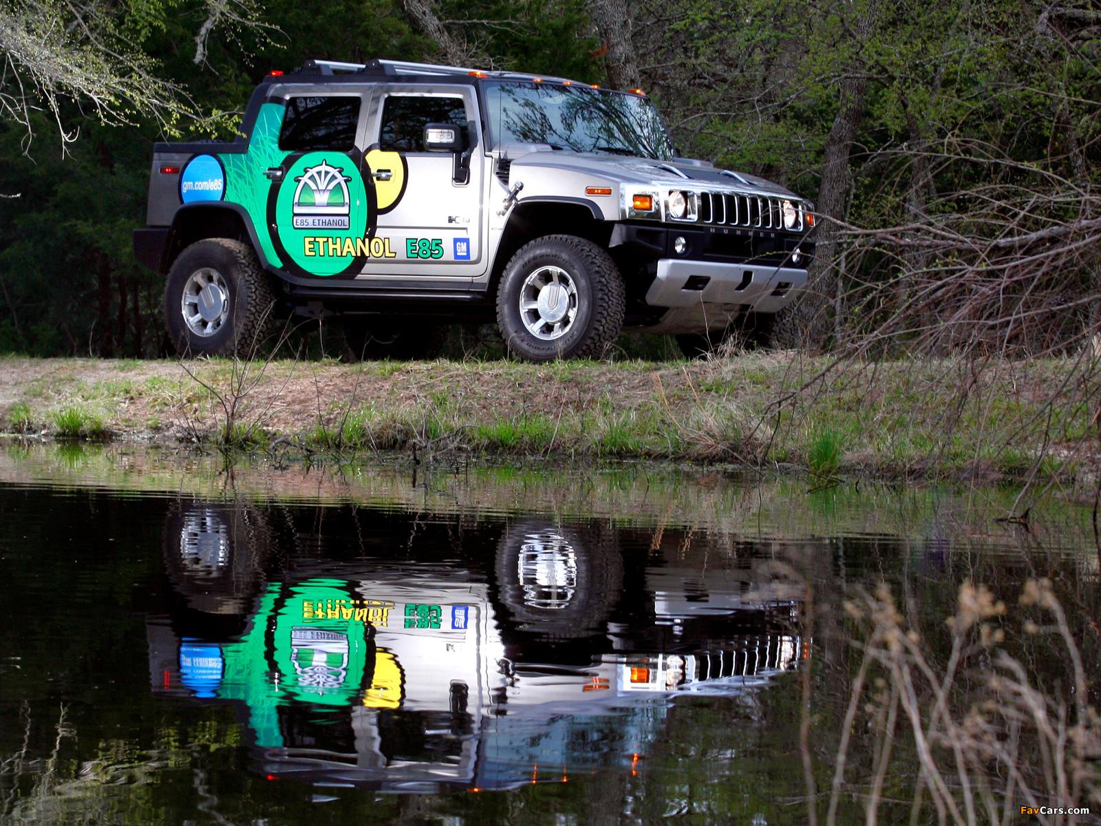 Hummer H2 SUT E85 2009 photos (1600 x 1200)