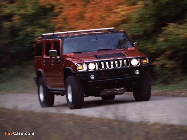 Images of Hummer H2 2002–07 (640 x 480)