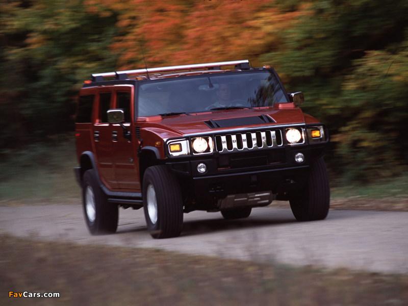 Images of Hummer H2 2002–07 (800 x 600)