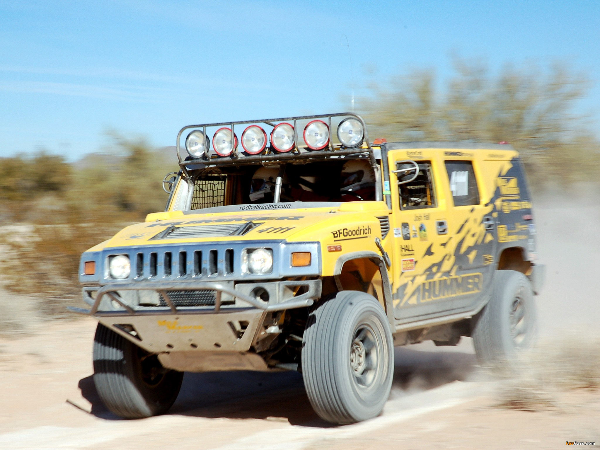 Images of Hummer H2 Race Truck 2007–09 (2048 x 1536)