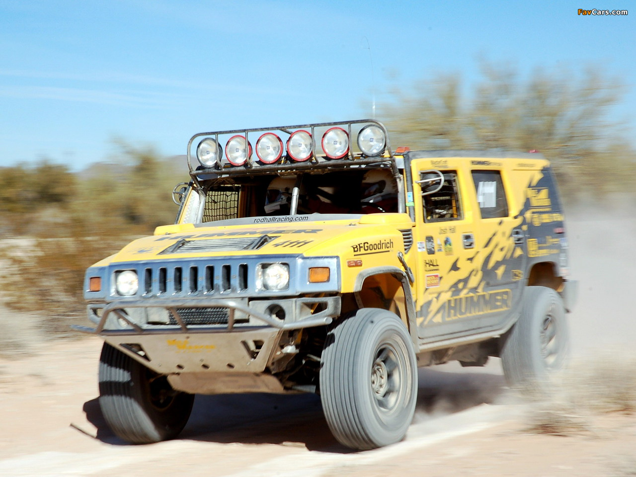Images of Hummer H2 Race Truck 2007–09 (1280 x 960)