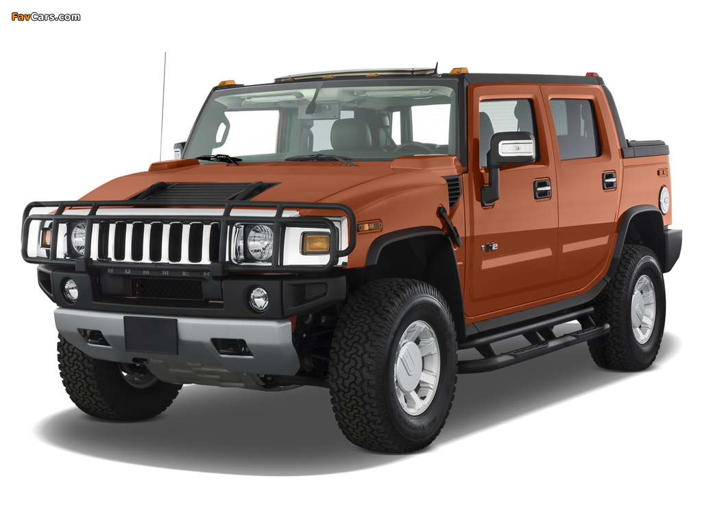 Images of Hummer H2 SUT E85 2009 (1024 x 768)