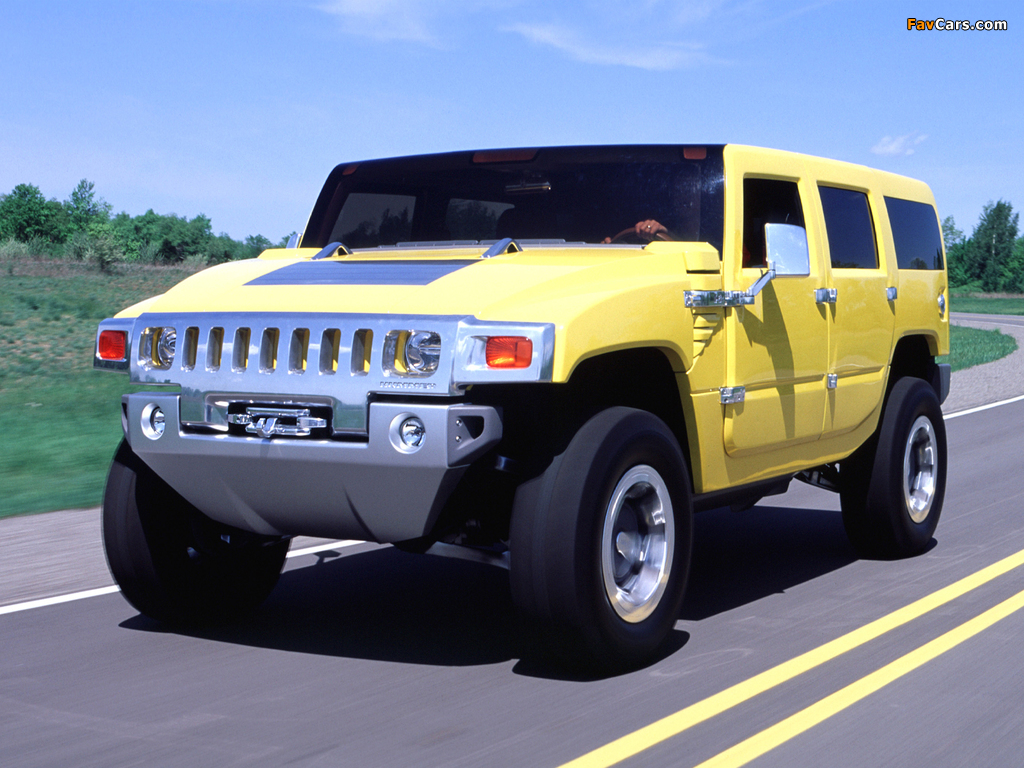 Photos of Hummer H2 SUV Concept 2000 (1024 x 768)