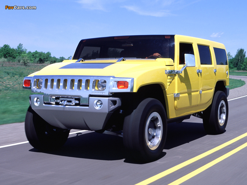 Photos of Hummer H2 SUV Concept 2000 (800 x 600)