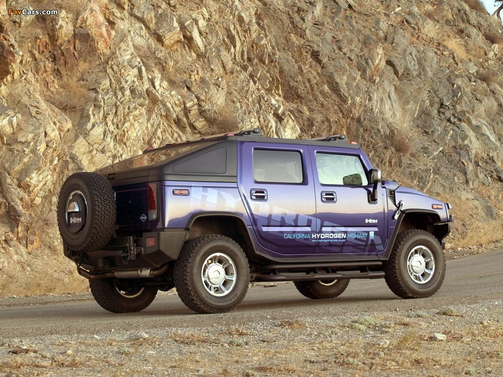 Photos of Hummer H2H Concept 2004 (1024 x 768)