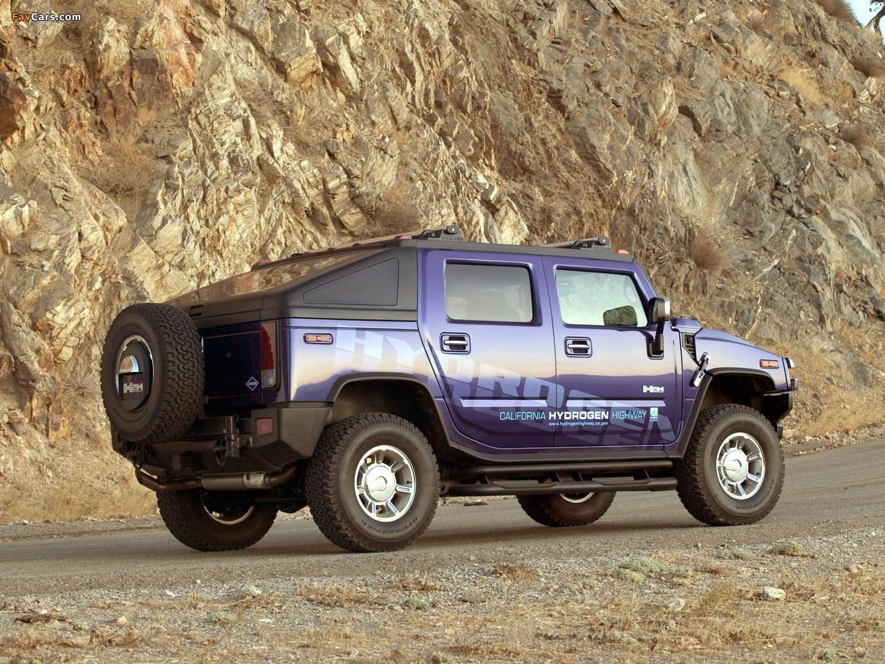 Photos of Hummer H2H Concept 2004 (1280 x 960)