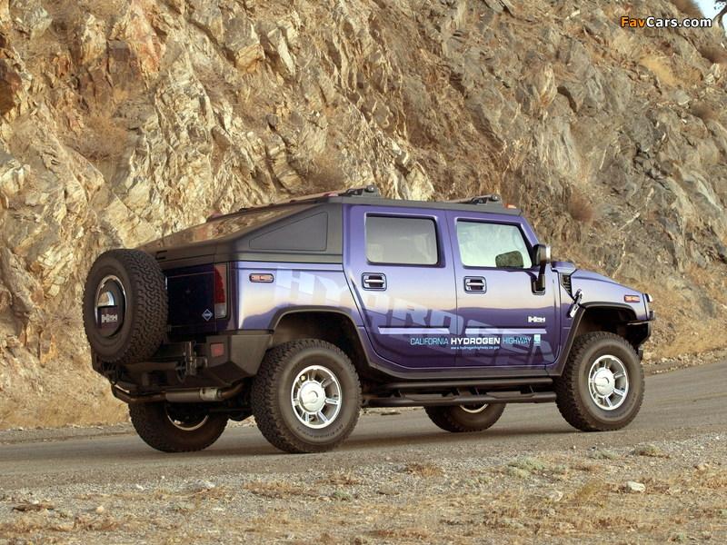 Photos of Hummer H2H Concept 2004 (800 x 600)