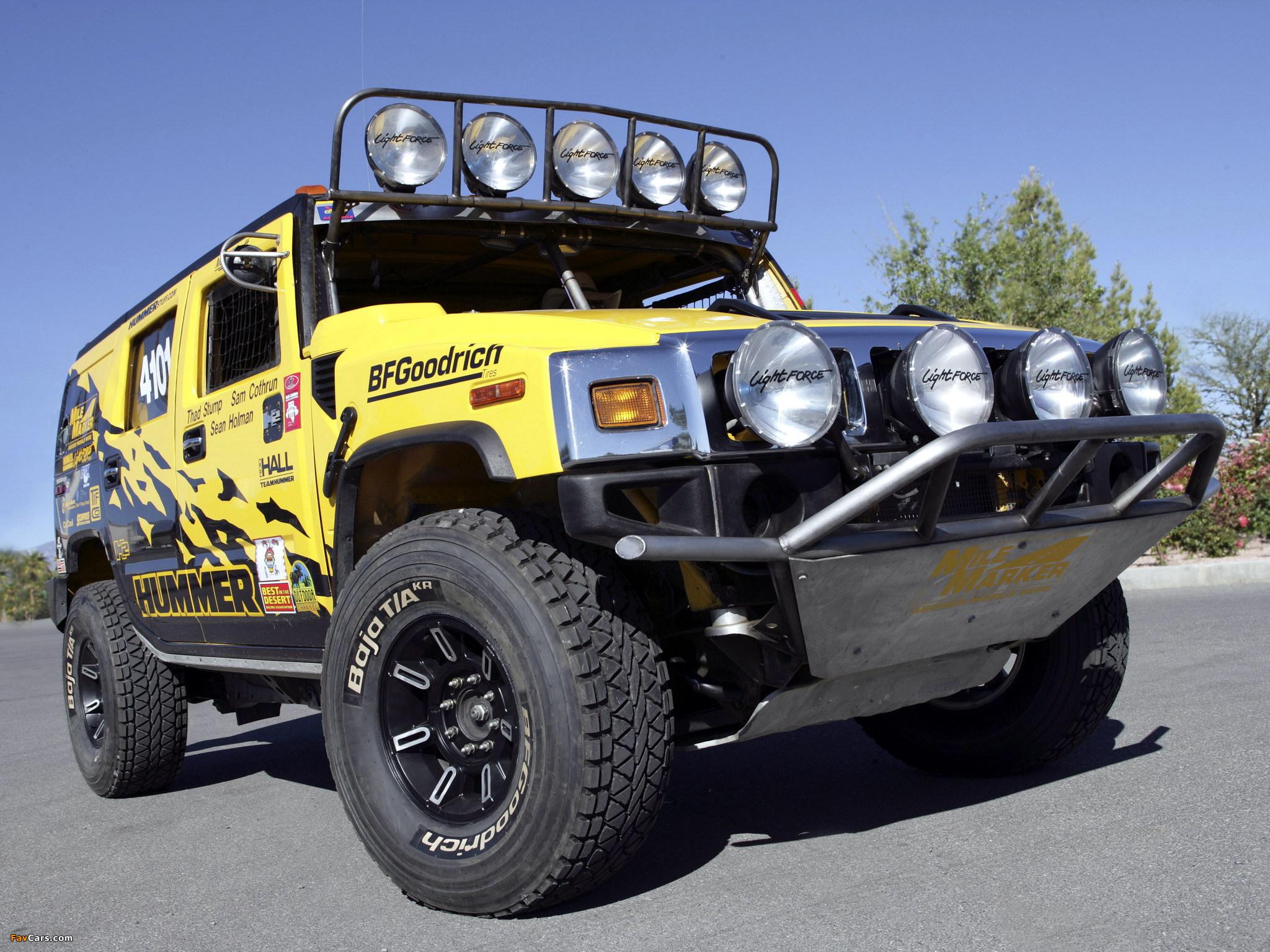 Photos of Hummer H2 Race Truck 2007–09 (2048 x 1536)