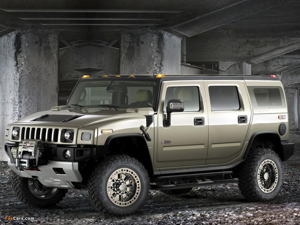 Photos of Hummer H2 Safari Off Road 2007–09 (1024 x 768)