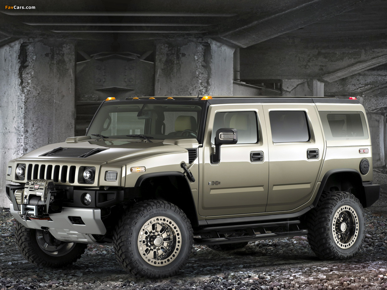 Photos of Hummer H2 Safari Off Road 2007–09 (1280 x 960)