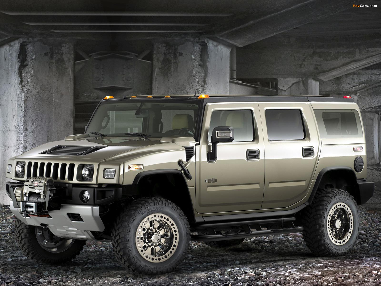 Photos of Hummer H2 Safari Off Road 2007–09 (1600 x 1200)