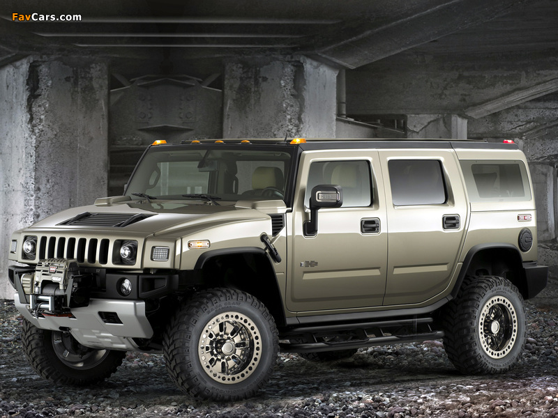 Photos of Hummer H2 Safari Off Road 2007–09 (800 x 600)