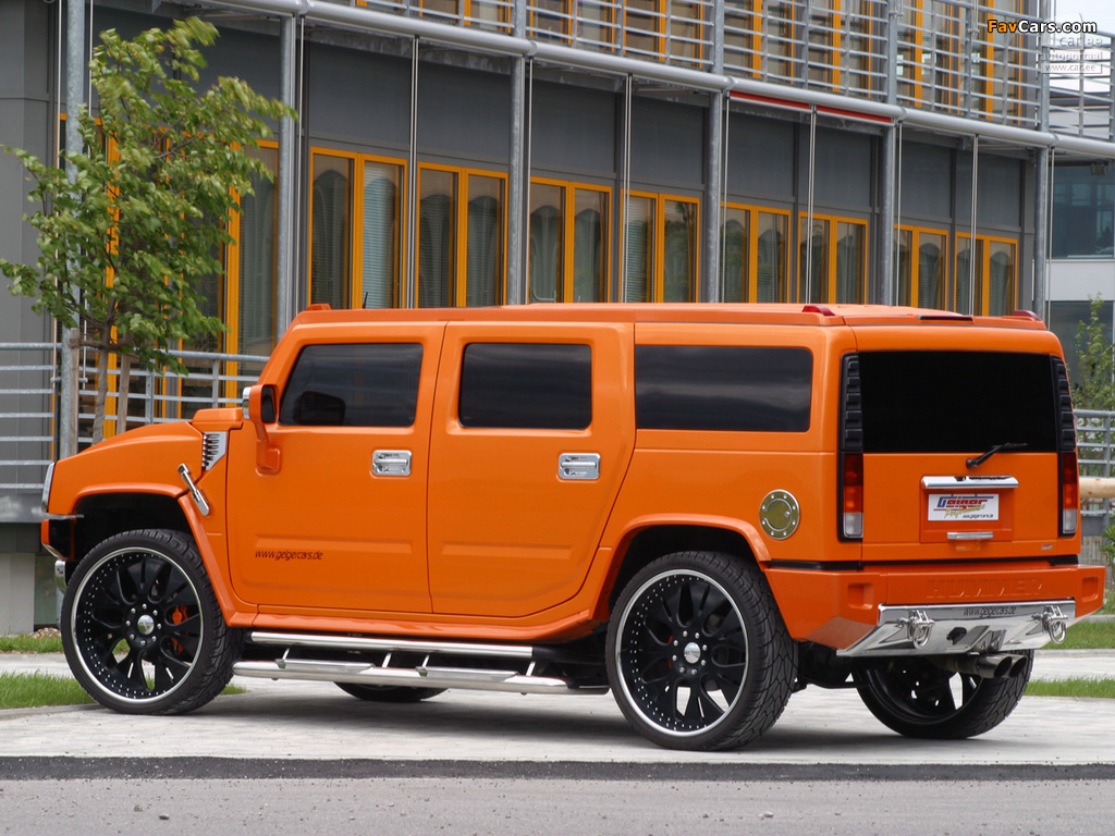 Pictures of Geiger Hummer H2 2005–09 (1024 x 768)