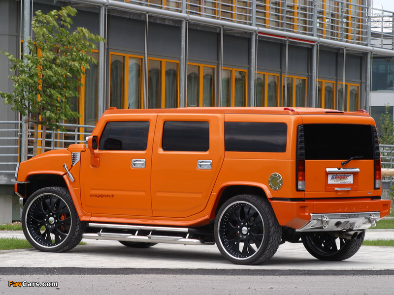 Pictures of Geiger Hummer H2 2005–09 (800 x 600)