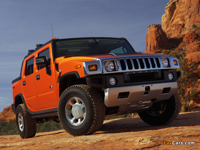 Pictures of Hummer H2 SUT 2005–09 (640 x 480)