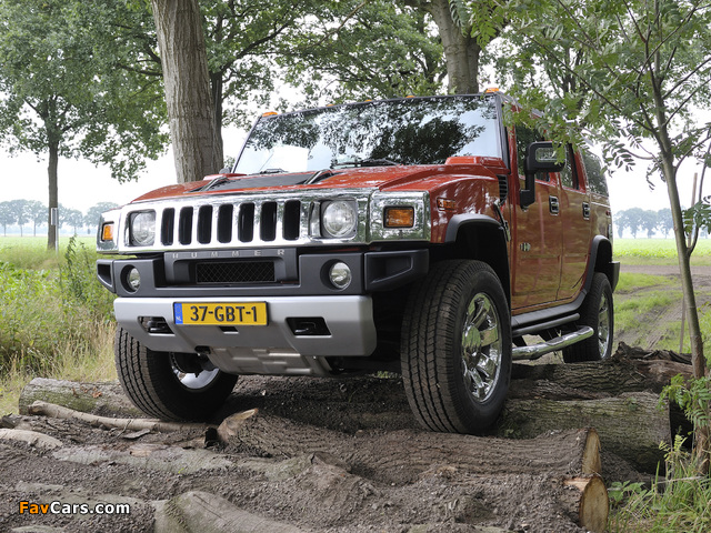 Pictures of Hummer H2 E85 2008–09 (640 x 480)