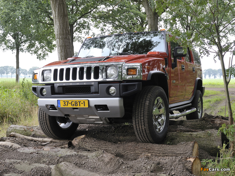 Pictures of Hummer H2 E85 2008–09 (800 x 600)