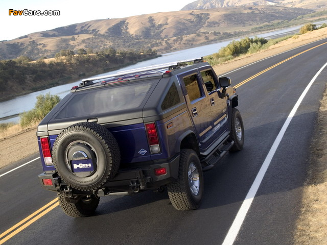 Hummer H2H Concept 2004 wallpapers (640 x 480)