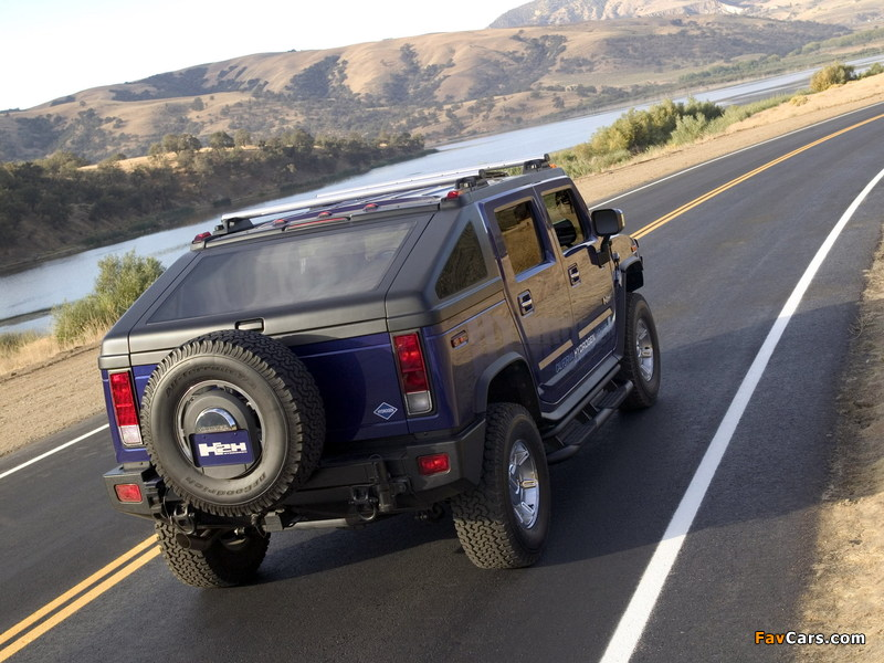 Hummer H2H Concept 2004 wallpapers (800 x 600)