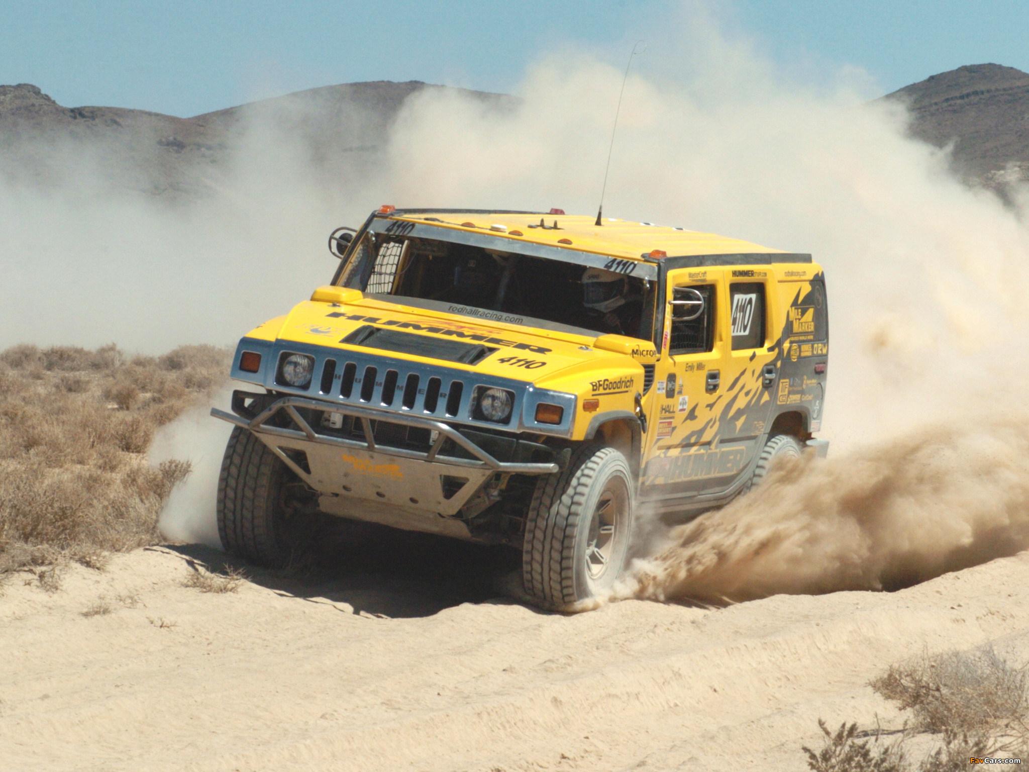 Hummer H2 Race Truck 2007–09 wallpapers (2048 x 1536)