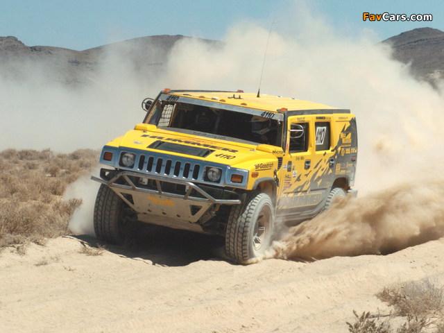 Hummer H2 Race Truck 2007–09 wallpapers (640 x 480)