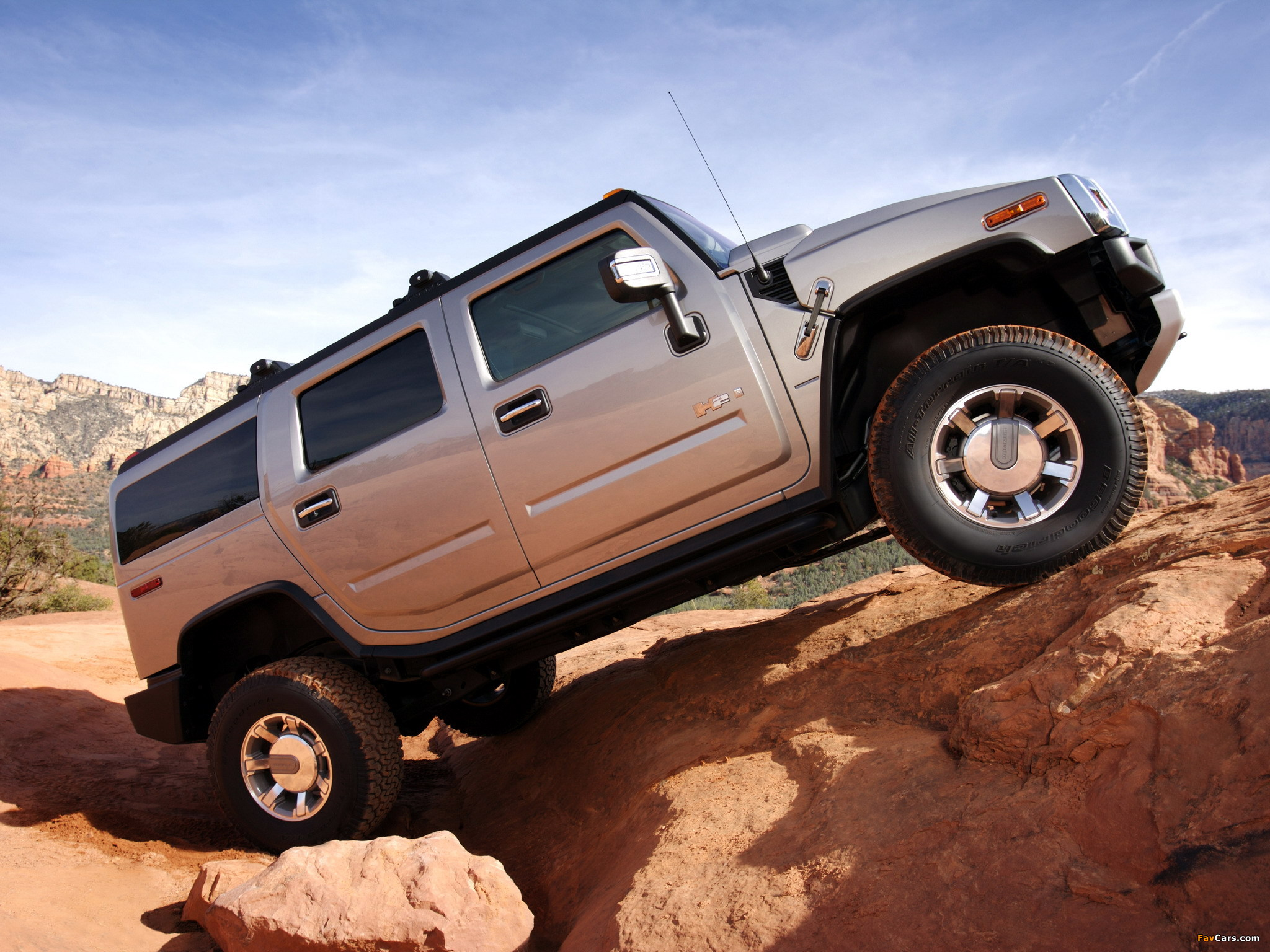 Hummer H2 2007–09 wallpapers (2048 x 1536)