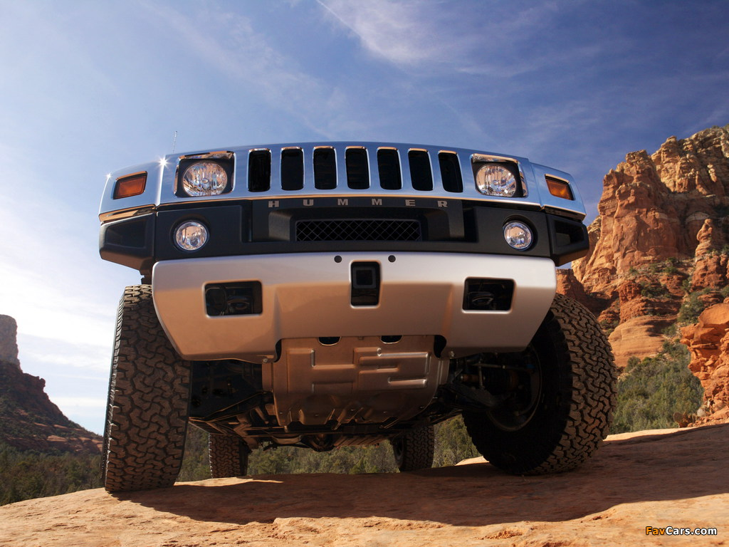 Hummer H2 2007–09 wallpapers (1024 x 768)